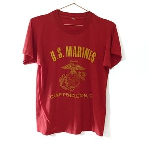 Vintage 70s U.S. Marines Camp Pendleton T-shirt